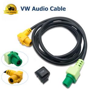 Details about USB Socket+AUX Input Audio Switch Cable for VW Passat  Volkswagen Jetta Golf