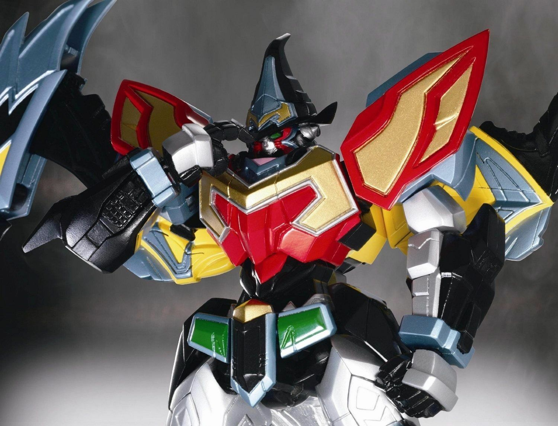 Super Robot Chogokin Mahou Mahou Mahou Sentai Magiranger MAGI KING Action Figure BANDAI 469d06