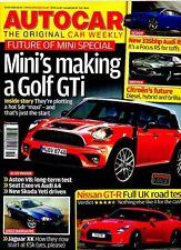 AUTO CAR MAGAZINE - 6 May 2009 MINI'S MAKING A GOLF GTI