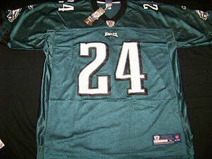 8951b9e8 Details about Reebok Men's Football Jersey Philadelphia Eagles #24 Nnamdi  Asomugha Size Small