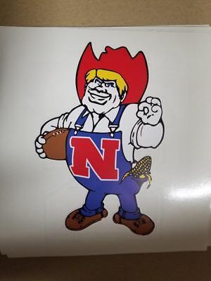 s Nebraska Huskers cornhole board or vehicle decal