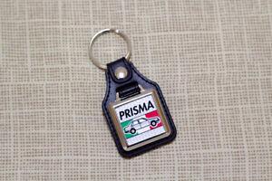 Lancia-Prisma-Keyring-Leatherette-amp-Chrome-Keyfob