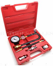 Automotive Compression Tester 2 Adapters 2 12 Diameter Gauge Gas Engine Tester