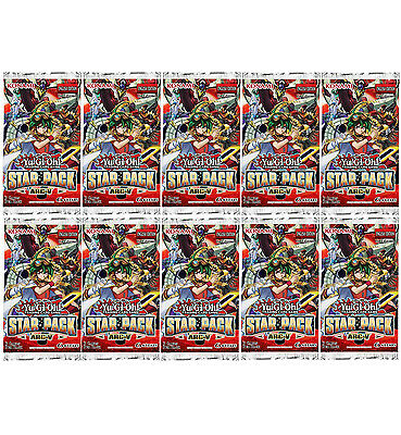 YU-GI-OH CARDS: STAR PACK 2015 ARC-V - 10 X BRAND NEW + SEALED BOOSTER PACKS