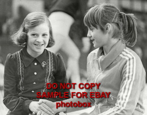 Nadia Comaneci Exclusive Unpublished PHOTO Ref 954