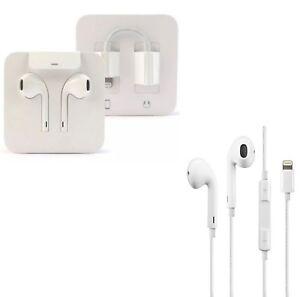 100% Genuine Apple Lightening Earpods Earphones Headphones