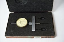 Brown And Sharpe 8241 961 And No 609 Depth Micrometer Used