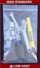 1000 4 Mil 25x3 Zip Lock Reclosable Clear Poly Bag Zipper Seal Top Plastic Bags