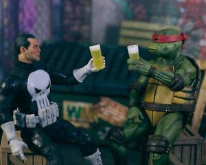 Set-of-2-Beer-Glasses-ACCESSORIES-ONLY-Mezco-Marvel-Legends-1-12