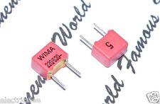 6 x WIMA FKP2 220pF 0.22nF 630VDC 250VAC 5/% Capacitor FKP2J002201D00JSSD