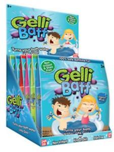 Twin pack Gelli Baff Goo from Zimpli Kids bath time paddling pool fun 2 baths