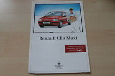 89334) Renault Clio A Maxi Prospekt 08/1997