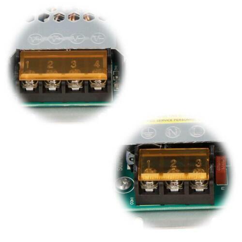 100-300W 12V DC flacher Trafo Treiber Vorschaltgerät LED Transformator flach