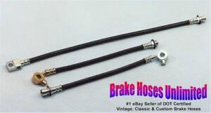 BRAKE-HOSE-SET-Chevrolet-Truck-C10-1-2-Ton-1972
