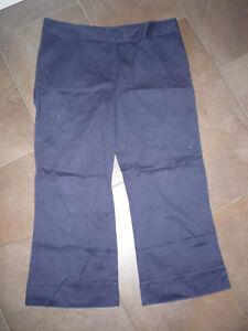 Details zu Tommy Hilfiger 78 Hose blau Gr.14 Stiefel Hose