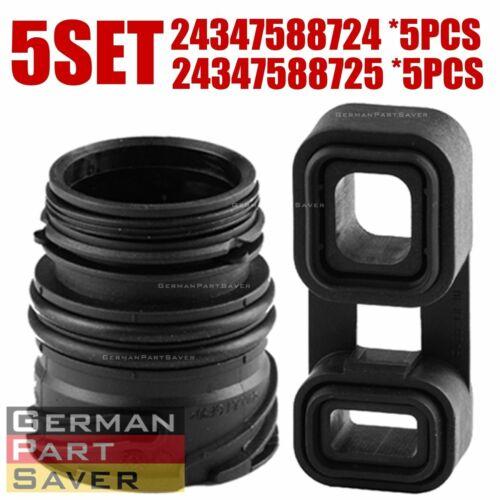 5SET BMW E88 E90 E60 X5 E70 X6 Auto Transmission Sealing Sleeve Plug Adaptor
