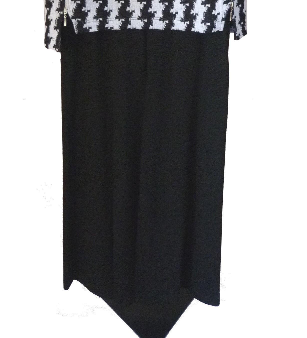 Gr.M  XL XXL Leins´ Hose Marlenehose Schlupfhose elegant pants Schwarz LAGENLOOK