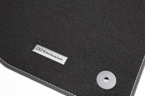 2017 Fußmatten Edelstahl Exclusive Logo für VW T-Roc A1 R-Line Sport Style Bj