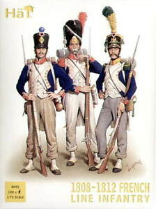HAT-8095-1808-1812-FRENCH-LINE-INFANTRY-NAPOLEONIC-WARS-1-72-SCALE-100-FIGURES