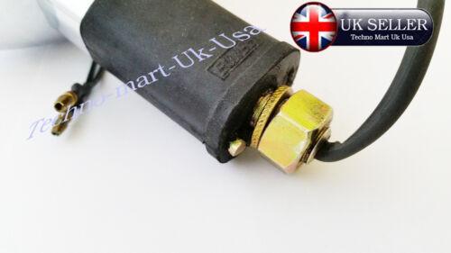 Nuevo indicador de color ámbar de Royal Enfield Bala Cromo Luz Intermitente Lente 4PCS 1035M-SW @UK