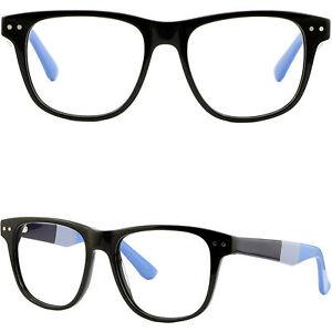image is loading oversized black square mens plastic frame wide glasses - Wide Eyeglass Frames