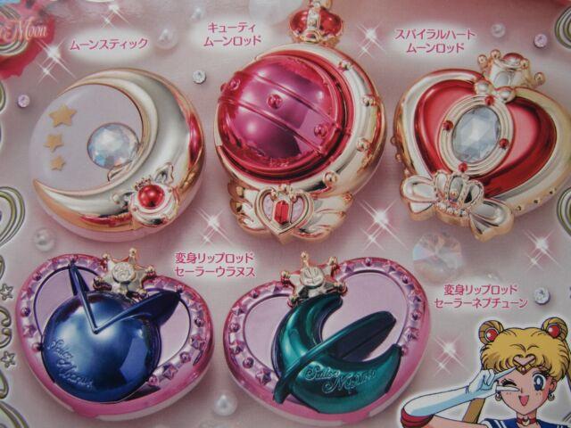 Bandai Sailor Moon Transformation Compact Mirror Vol 2 Gashapon Figure Set of 5