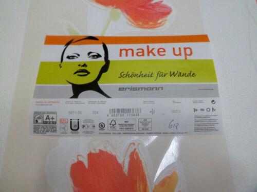 Erismann Premium make up Vliestapete Lovely Flower  0,39€//Meter  6811-06