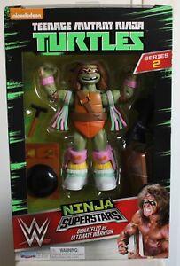 Teenage Mutant Ninja Turtles WWE Superstars Series 2 Donatello Ultimate Warrior