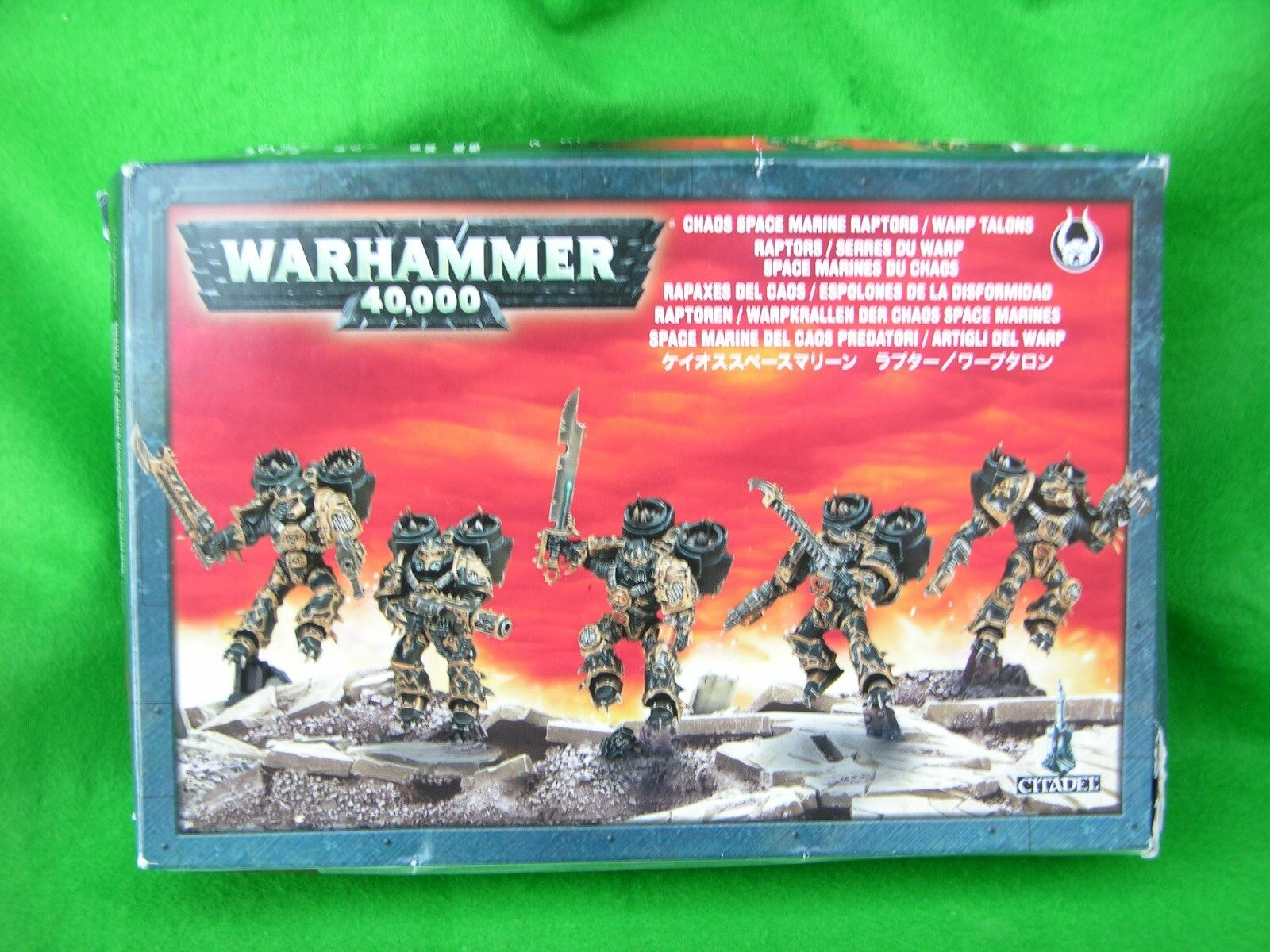 WH40K CHAOS SPACE SPACE SPACE MARINE BOX SETS, MULTI-LISTING 0e34ec