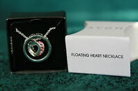 Avon Floating Heart Necklace