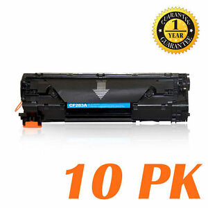 10-Pk-Pack-83A-CF283A-Toner-Cartridge-Fo-HP-M201dw-M201n-MFP-M125a-M125nw-M127fw