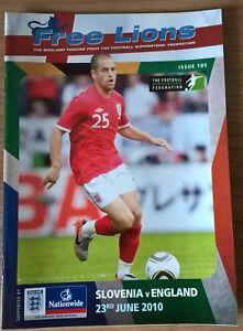 Slovenia-v-England-Free-Lions-Issue-105-World-Cup-2010-Port-Elizabeth-23-06-10