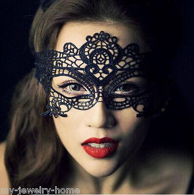 Sexy Lace Eye Mask Venetian Masquerade Ball Halloween Party Dress Costume
