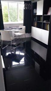 Image Is Loading Black High Gloss Laminate Flooring Price Per 2