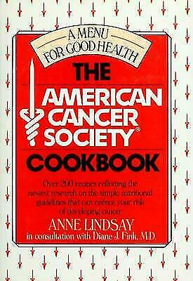 American Cancer Society Cookbook : A Menu for Good Health ...