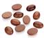 4 pcs  13 x 18mm  natural oval Gold   sandstone cabochons
