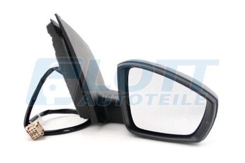 Außenspiegel Spiegel Abdeckung rechts lackierbar 6R 06//09 VW Polo 09