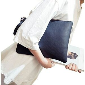 strong packing look good shoes sale find workmanship ZOONAI Oversized Clutch Bag Purse, Womens Large leather ...