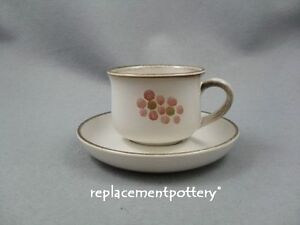Denby-Gypsy-Cups-amp-Saucers-x-6-Free-UK-Postage