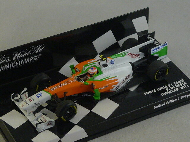 Minichamps 410110085 force india f1 team showcar 2011 di stayed 1 43
