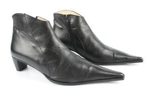 Santiags, bottines, low boots cowboy JONAK 39 noir vendu par