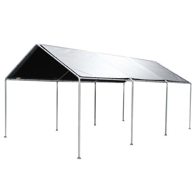 King Canopy Tarp (w/out Drawstrings) - silver T10203
