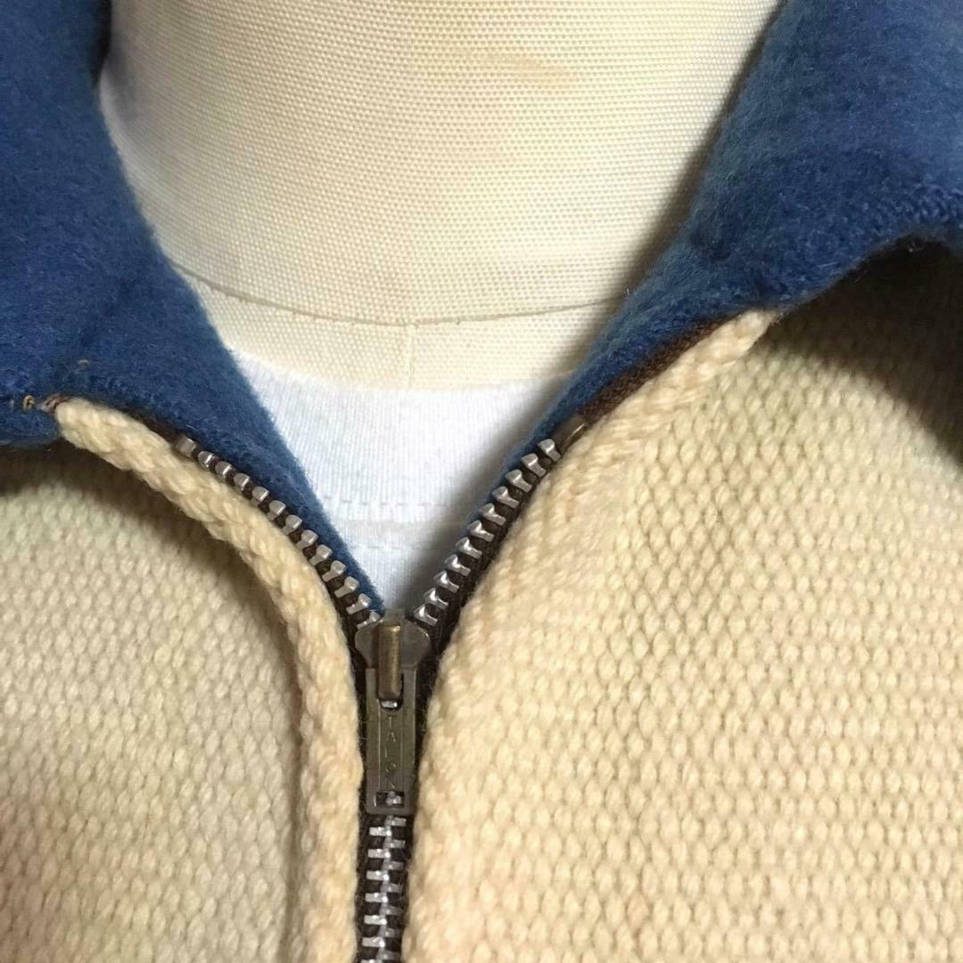 Ganscraft Vintage Chimayo Jacket Turquoise blue x… - image 4