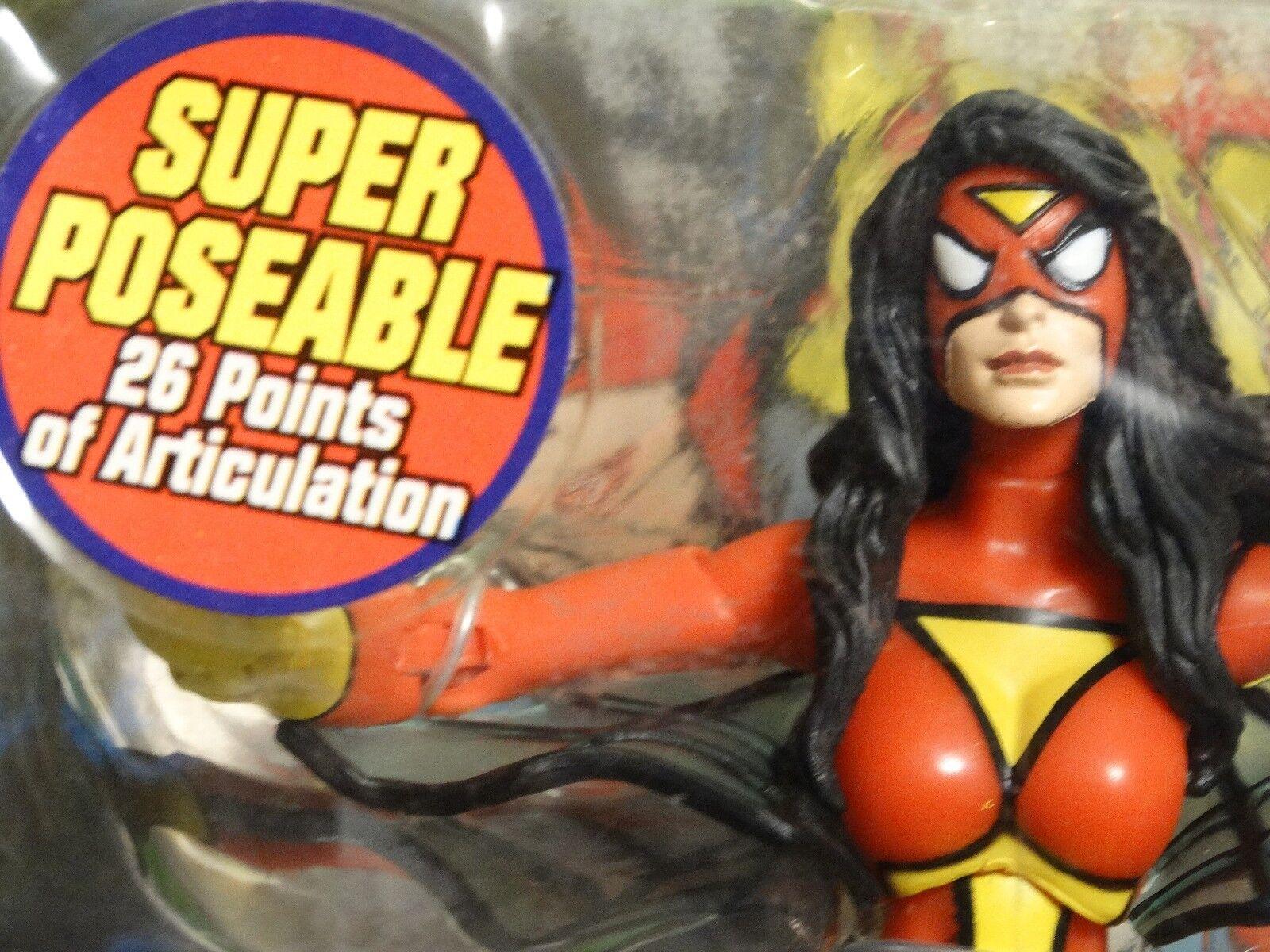 Marvel Legends SPIDER WOMAN w  MODOK baf HEAD Part - MIP   Toy Biz   Drew SHIELD