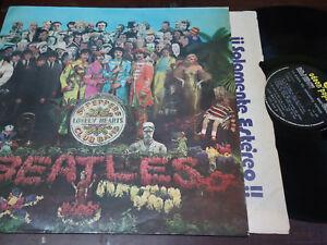 THE-BEATLES-La-Banda-Del-Sargento-Pepper-LP-12-034-RARE-ARGENTINA-1967