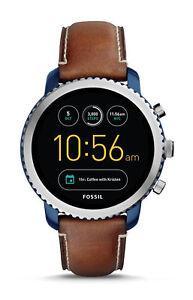 Fossil Q Explorist 3.GEN Smartwatch / Edelstahl Blau / Android+iOS / DHL