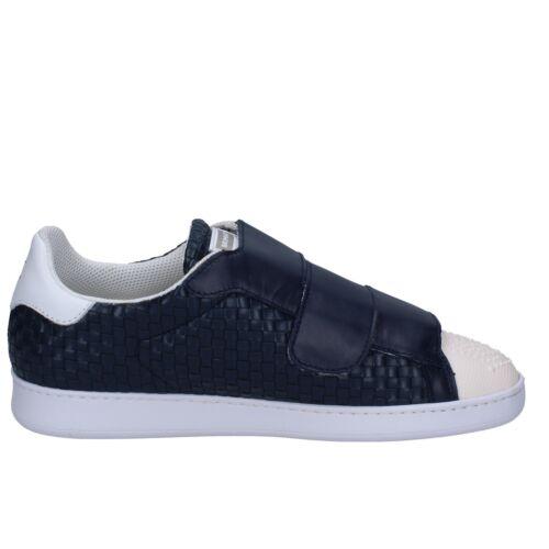 44 Azul Zapatos Hombre Cuero 44 Eu Brimarts Bt590 Zapatillas UU6Ppw8Xq