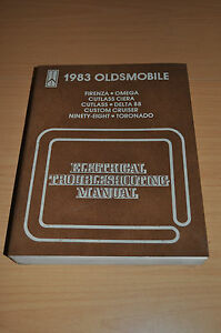 Auto & Verkehr Hingebungsvoll Gm Oldsmobile 1983 Electrical Troubleshooting Manual Various Werkstatthandbuch