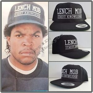 08e368acce6 NEW! Lench Mob Street Knowledge Black Snapback Cap Hat NWA Ice Cube ...
