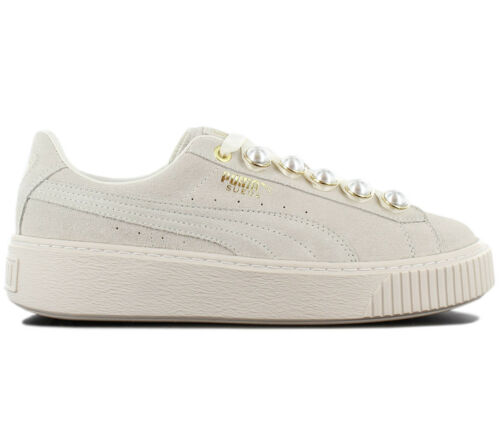 Puma bianco 366688 Sneaker Bling Grigio Da Scarpe Suede Platform 02 Donne 7xqwB07rg